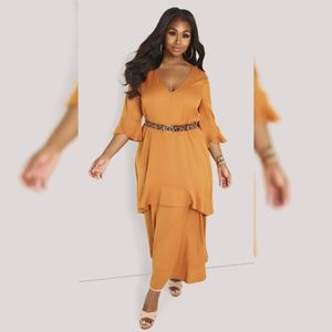 Rebdolls Maxi Long Dress Plus Size 5x 6x 26 28